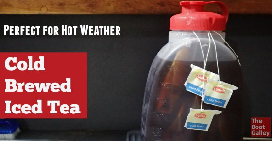 Iced tea with no extra heat in the kitchen or the refrigerator -- what could be better on a hot day?