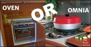 Wondering if you really care about having an oven on the boat? I can't answer for you, but I can give you some questions to ask yourself.