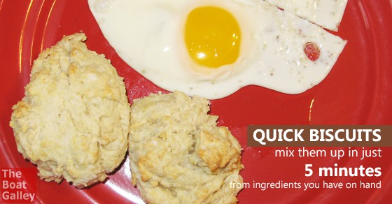 Drop biscuits are faster to make and less messy to clean up than rolled biscuits -- and they taste great!