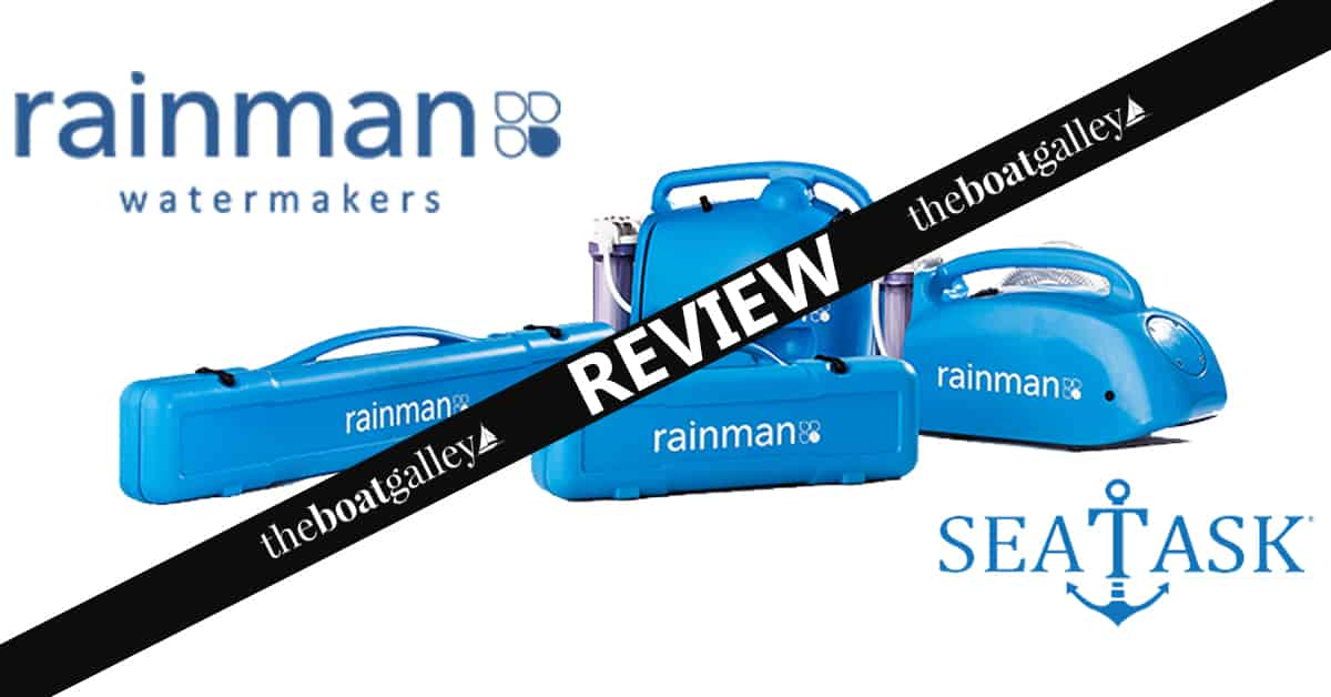 Rainman Watermaker Review | The Boat Galley