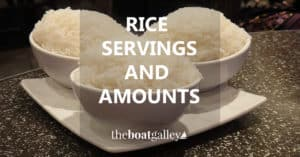 Title: How much rice is one serving