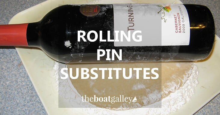 Rolling pin substitutes