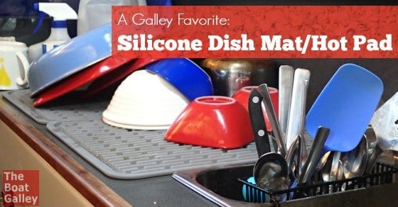 Silicone Dish Mat Hot Pad The Boat Galley