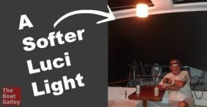 The Luci is a great solar light, but sometimes the original one is just too bright!