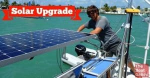 We did a major upgrade on our solar charging and we now live almost totally on solar power. Here's what we did (mostly DIY) and the cost.