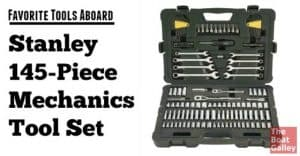 Boats -- and the stuff on them -- break. To fix them, you need tools. This tool set is one of our favorite buys!