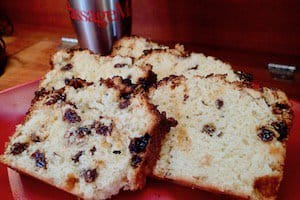 Streusel Coffee Cake - Oh-so-easy and delicious recipe for a from-scratch coffee cake. Designed to be mixed by hand and bake in a tempermental oven!