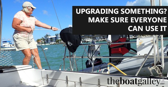 If you or your partner were incapitated, could the other one do all the necessary chores on the boat? How we set our systems up and how it's paying off.
