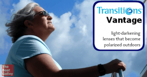 Polarized lenses that are clear indoors and dark outdoors. Really? Really!