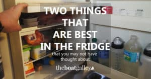 Even if refrigerator space is limited, sealant tubes and wasabi don't last long outside the refrigerator in hot weather.