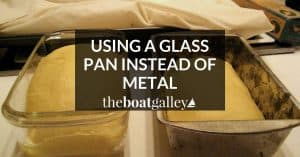If recipe calls for a metal baking pan and you use a glass one, you need to make this important change in the baking temperature.