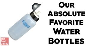 What's the best refillable water bottle? I vote for the Nalgene All-Terrain Bottle, after 12 years of using it. Here's why.