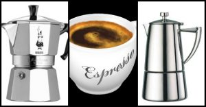 Like espresso? Want it on the boat? There are several units that can work -- see which ones readers have recommended.