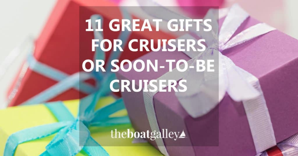Coming up with great gifts for someone who is downsizing or already living aboard their boat can be tough. Eleven things that will be truly appreciated.