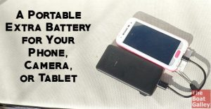 I hate seeing the low battery warning on my phone, camera and more. An easy way to recharge on the go -- and inexpensive!